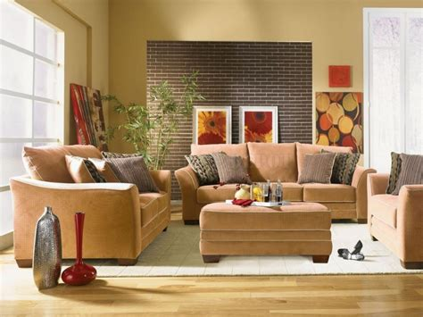 interior decorating tips for small homes brown brick wall tiles for small house interior design ideas with chocolate brown sofa and