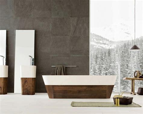 tapisserie salle de bain papier peint pour salle de bain 45 id 233 es magnifiques archzine fr