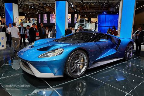 2017 Ford Gt Stuns The Frankfurt Motor Show Crowd