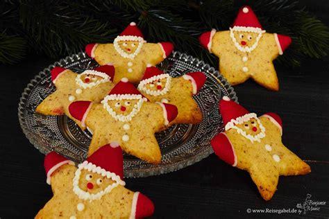 Haselnuss Weihnachtsmann Sterne