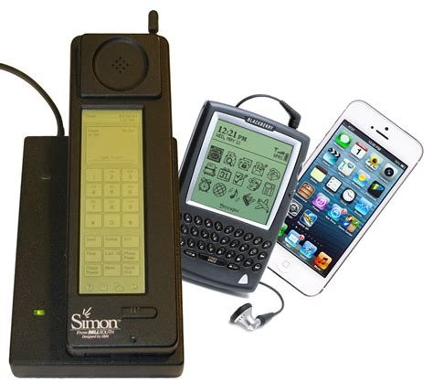 history of phones the history of smartphones connected times