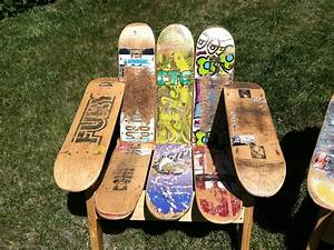 Buy a Hand Crafted Skateboard Deck Chair, made to order