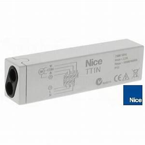 Programmation Telecommande Nice Volet Roulant : recepteur nice tt1n volet roulant store ~ Mglfilm.com Idées de Décoration