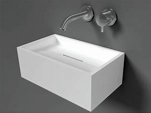 Lave Main Suspendu : 17 best images about lave mains on pinterest basins ~ Nature-et-papiers.com Idées de Décoration