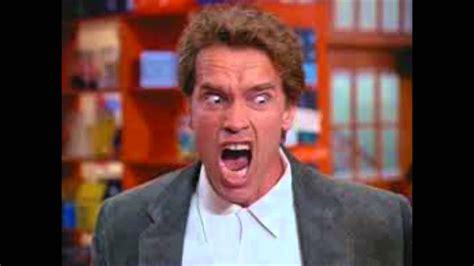 Angry Arnold Schwar | Meme Generator