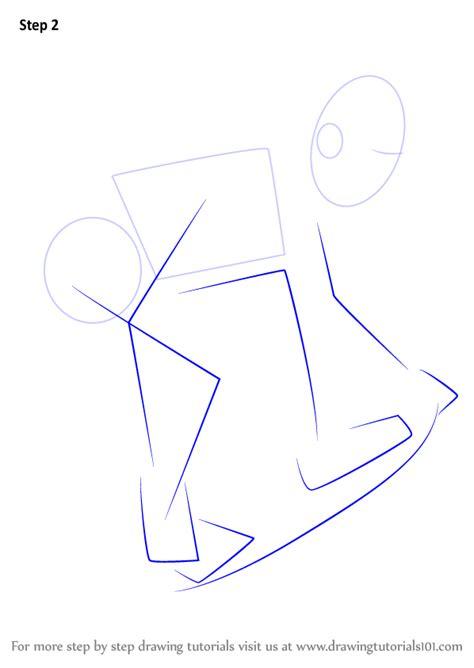 learn   draw  skateboarder skateboarding step