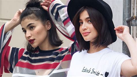 anne curtis hairstyles  lazy days