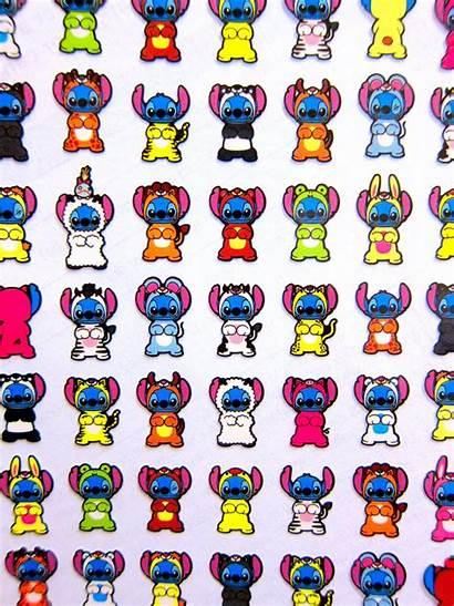Stitch Stickers Disguise Favorite Disney Animals
