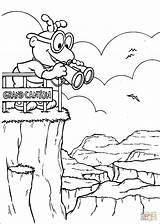 Canyon Grand Coloring Ausmalbilder Scooter Muppet Babies Desenhos Muppets Zum Coloriage sketch template