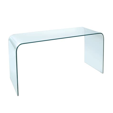 Contemporary Glass Furniture  Glass Console Tables  4 Living