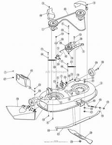 Mtd 13am762f765  2007  Parts Diagram For Deck Assembly 38 Inch