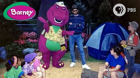 barney friends pbs  camping    season