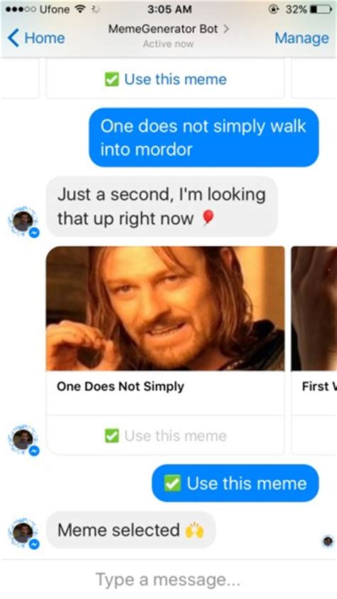 Meme Generator Facebook - how to create and share memes from inside facebook messenger