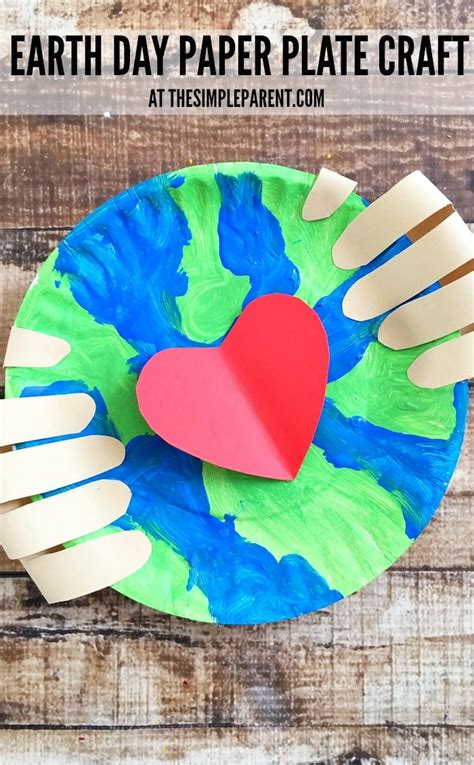 Make An Earth Day Craft Preschoolers Will Love Together To
