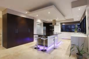 Kitchen Island And Stools Bulkhead Designs Ceilings Kitchen Contemporary With Purple Kitchen Modern Kitchen Pendant Lights