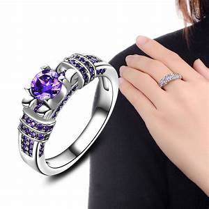 2017 fashion jewelry ring for women engagement wedding With costume jewelry wedding rings