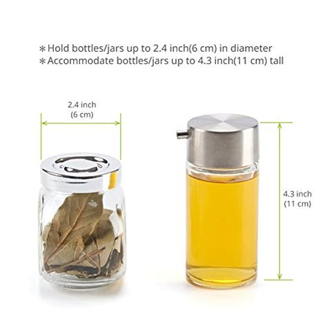 Spice Bottle Holder by 3 Tier Spice Rack Ezoware Spice Jars Bottle Holder Storage