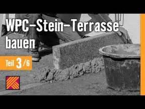 version 2013 wpc stein terrasse bauen kapitel 3 randsteine setzen