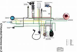 Lifan 110 Wiring Diagram  3