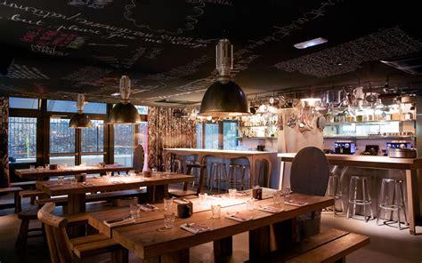 table bar cuisine pas cher bienvenue au shelter hôtel design par philippe starck