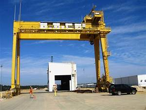 300T / 30T Gantry Crane - NASA 1992 New | used, second ...