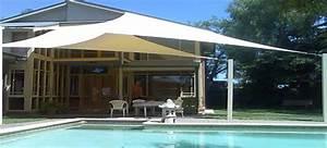 Voile Pour Pergola : voile d 39 ombrage pour une d co de terrasse sympa ~ Melissatoandfro.com Idées de Décoration