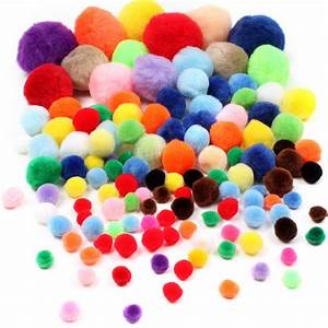 Assorted Pom Pom Value Pack Hobbycraft