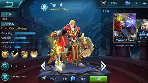 mobile legends heroes how to use tigreal minotaur akai skills in
