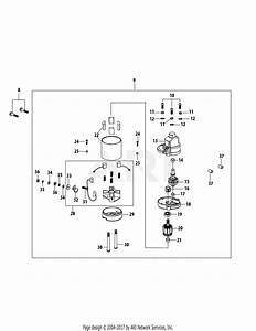Mtd 13a2775s000  2015  Parts Diagram For 4p90juc Starter
