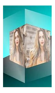 Transparent Layer CSS3 3D cube animation with Image | Pure ...