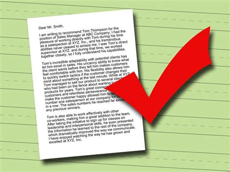 ideas  writing letter  recommendation
