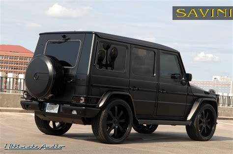 benz jeep black g wagen savini wheels