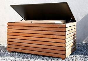 Geräteschrank Garten Holz : terrasse garten balkon kissentruhe forte von conmoto bild 12 sch ner wohnen ~ Whattoseeinmadrid.com Haus und Dekorationen