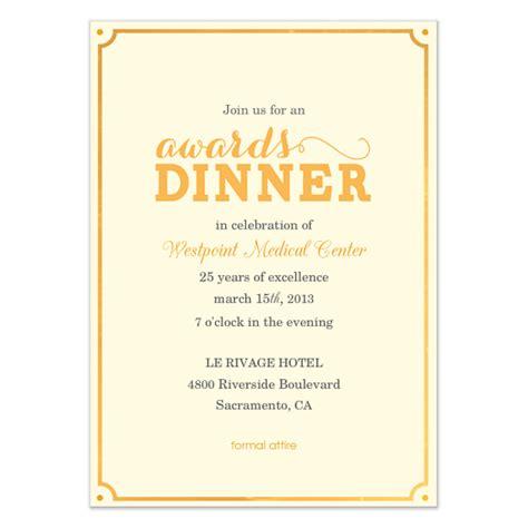awards dinner invitations cards  pinggcom