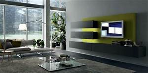 Wall mounted tv cabinet for contemporary living spaces by