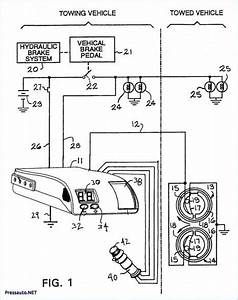 Electric Brake Wiring Diagram In 2020  With Images