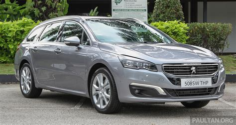 Peugeot Malaysia by Peugeot 508 Facelift Launched In Malaysia Fr Rm175k