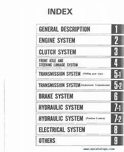 Mitsubishi Mt160  D  Mt180  D  Mt180h  Hd Repair Manual Pdf