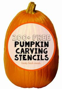 200  Free Pumpkin Carving Stencils