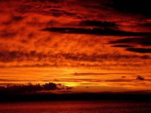 Photography NATURE WORLD PEOPLE BEAUTY: Red sky
