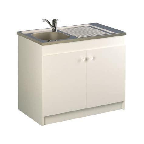 vide sanitaire meuble cuisine meuble sous evier blanc sans decoupe lorans robinetterie