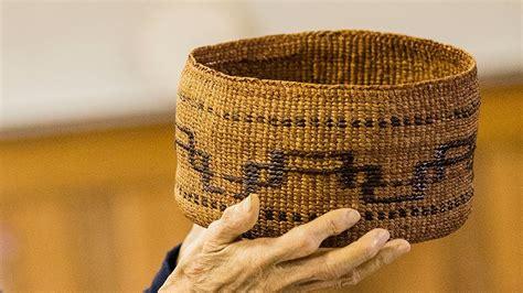 twining cedar    annette island tsimshian basket