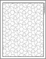 Coloring Pages Pattern Quilt Printable Star Sheets Pdf Printables Colorings Comet Getcolorings Getdrawings Customize sketch template