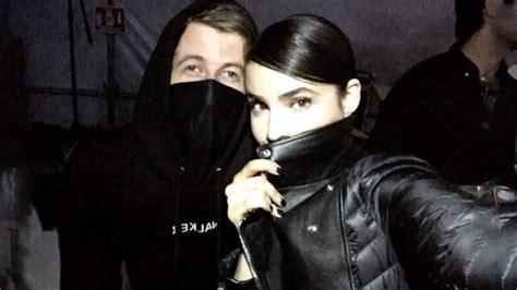 Sofia Carson Backstage With Her Boyfriend