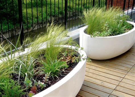 contemporary plant containers interiorzine