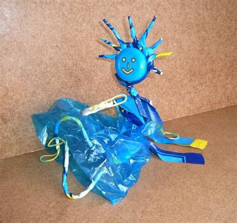 d 233 chets plastique valorisation personnage en sacs plastiques objet cr 233 ation recyclage