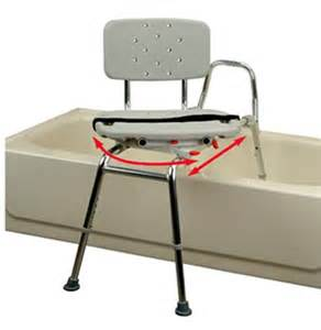 Bathtub Transfer Bench Swivel Seat by Swivel Sliding Transfer Bench