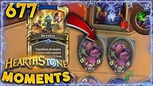 EASIEST DEVOLVE EVER!! | Hearthstone Daily Moments Ep. 677 ...