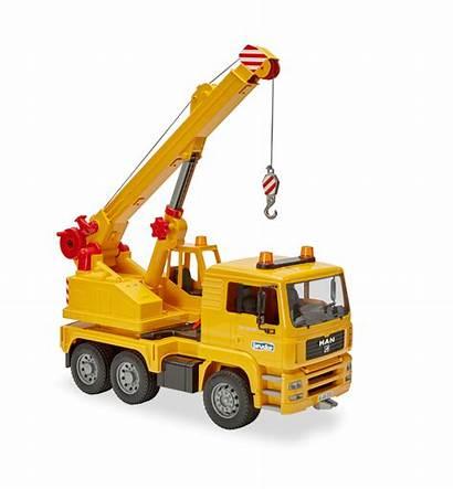 Crane Bruder Truck Toys Camp