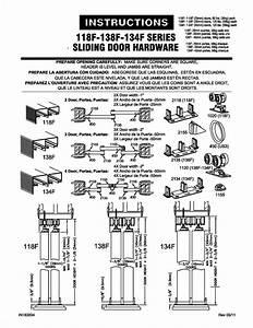 BY-PASS CABINET DOOR TRACK Cabinet Doors
